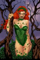 Poison Ivy by newbachu colored by Moira MacTagger