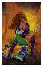 SHE-HULK VS TITANIA