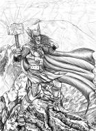 Thor Lightning storm - lines