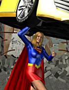 """Smile for the camera, Supergirl!"" --Jimmy Olsen"