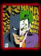 Batman/Joker : Tragedy/Comedy