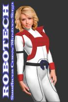 Robotech: Dana Sterling's new hair style