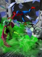 Mysterio vs. Spiderman