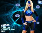 Blue Lantern Star Girl