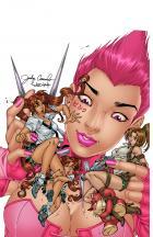 BANZAI GIRLS: PINK PERSUASION! by Jinky Coronado