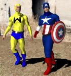 Captain America and the Whizzer
