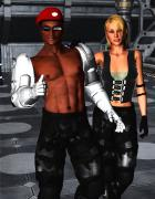 Mortal Kombat: Jax and Sonya