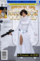 Princess Leia Marvel Comics Cover