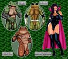 Battetoads and Dark Queen