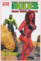Red She-Hulk Comic Cover
