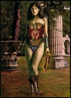 Katie McGrath as Wonder Woman