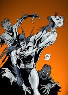 Batman vs Zombies