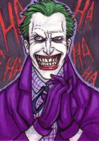 Joker Sketch Card