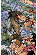 BANZAI GIRL:  The Sinister Snakeman!  by Jinky Coronado