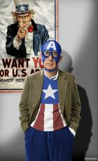 Bad Casting...Woody Allen as Captain America