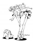 BANZAI GIRL:  Bad Wilfred! by Jinky Coronado