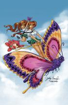 Day Job: BANZAI GIRL: BIG BEAUTIFUL BUTTERFLY by Jinky Coronado (Final)