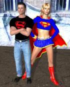 Superboy  & girl