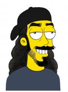 Temporal Dave -Simpsons-Style