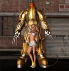 kelly the mutant cheerleader and dan the big robot