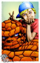 Say Cheese (Thing & Franklin) [Art: Mike Deodato] Colored