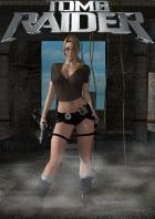 Christina Carter as Lara Croft
