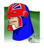 Captain Britain (After Alan Davis Sketch)