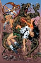 BANZAI GIRL: REVENGE OF THE SNAKEMAN! by Jinky Coronado