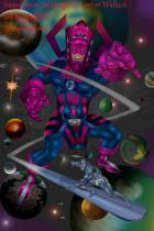 galactus - Silver Surfer