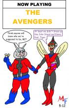Fanboy and Mary Jane go see The Avengers