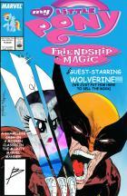 Cover Flip Challenge: My Little Wolverine