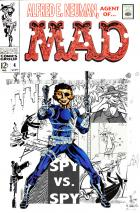 Cover Flip Challenge: Alfred E. Neuman, Agent of M.A.D.