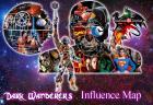Dark Wanderer's Influence Map