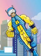 Amprey - Superhero Squad style