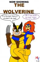 Fanboy and Mary Jane go see The Wolverine