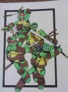 the turtles' sketch