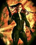 Happy Black Widow