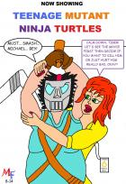 Fanboy and Mary Jane go see Teenage Mutant Ninja Turtles
