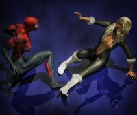 Spidergirl vs Black Cat