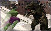 Hulk Smash Puny Lizard!!!...