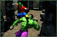 Hulk Smash Puny Doc!!!...