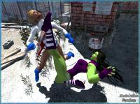 She-Hulk Vs. Power Girl! 2nd Take?