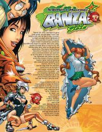 BANZAI GIRL: Promo Graphic by Jinky Coronado