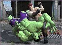 Hulk Vs Frank!...