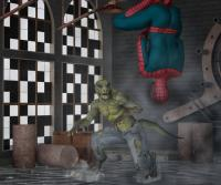 Spiderman vs Lizard