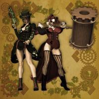 May Challenge: Steampunk Harley n Ivy