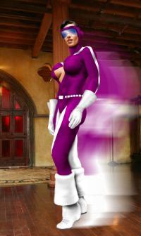 Zeta from the halls of Unicorn Comics