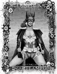 May Challenge: Steampunk Batgirl 2