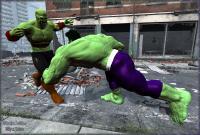 Hulk Vs. Green Skull!...