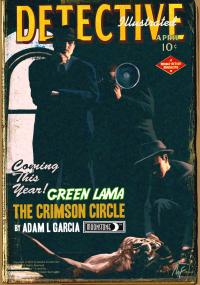Green Lama Crimson Circle